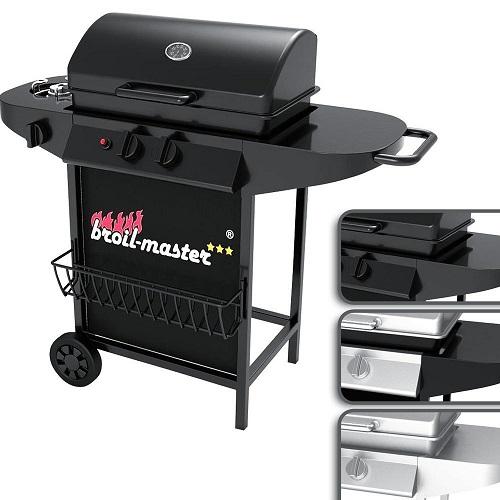 barbecue a gas 2+1