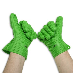 guanti per il barbecue