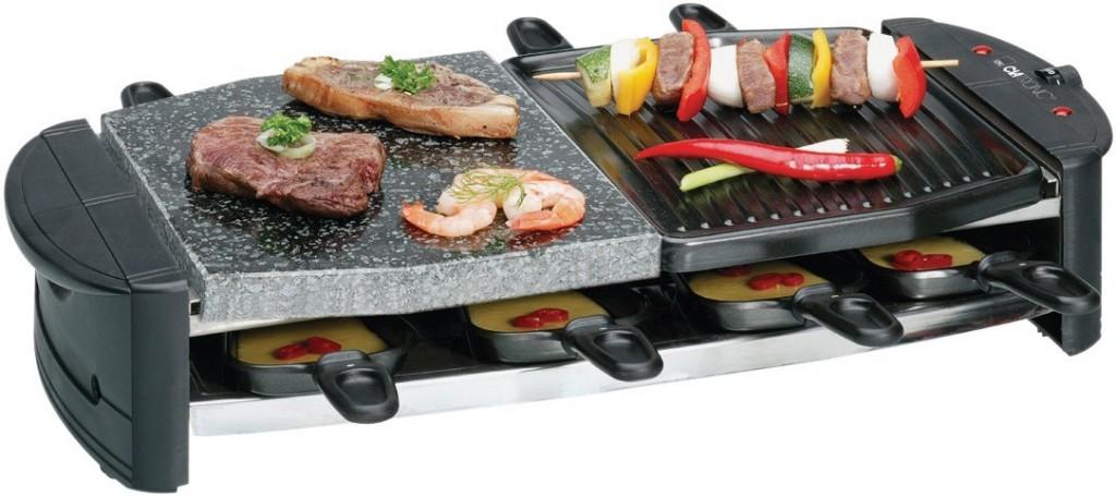 griglia per la raclette clatronic