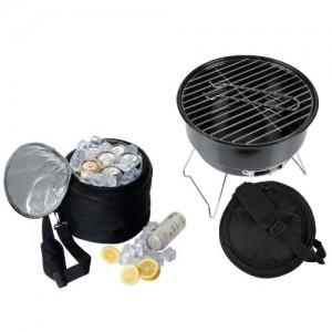 barbecue con borsa frigo