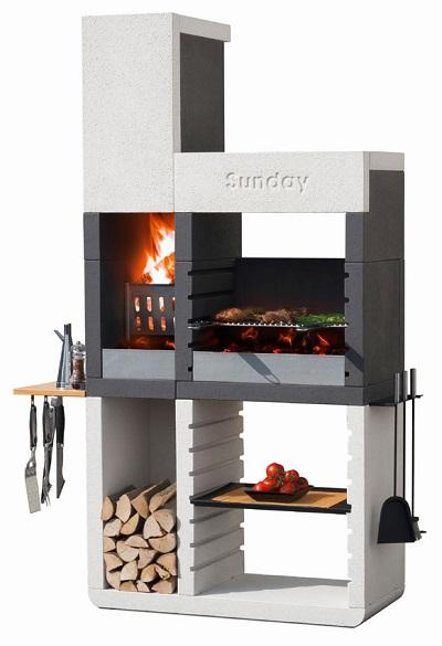 barbecue in muratura moderno