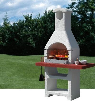 Barbecue muratura sunday i modelli alla portata di tutti - Barbecue da giardino in pietra ...