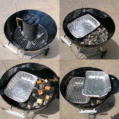 affumicare nel kettle