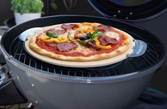 Pizza pietra refrattaria barbecue