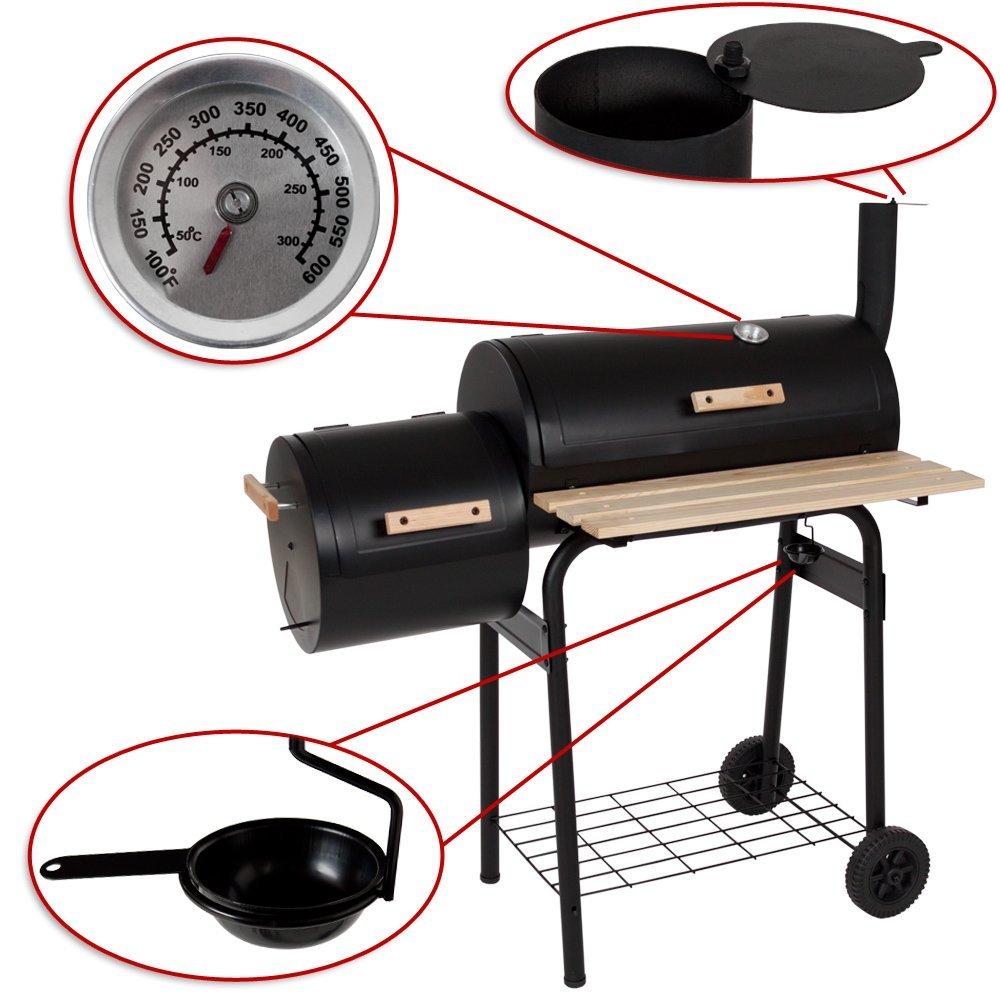 I migliori barbecue con affumicatore e smoker for Costruire affumicatore fai da te