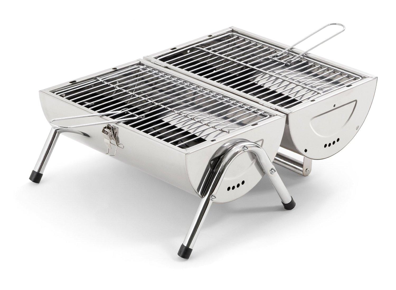 Barbecue portatile o griglia pieghevole io griglio dove voglio - Barbecue portatile a carbonella ...
