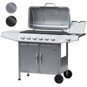 barbecue a gas broil master