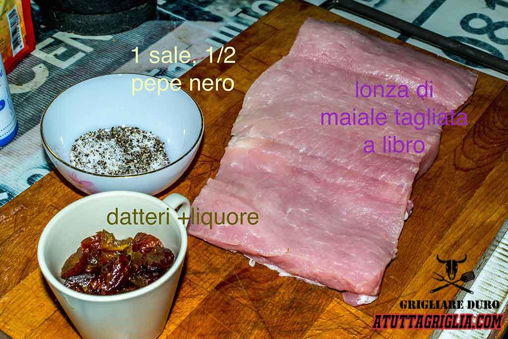 lonza di maiale